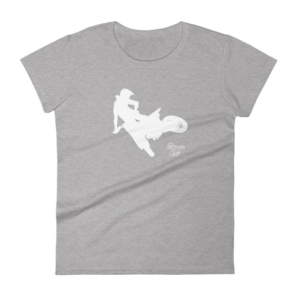 Women's Dirtbike Short Sleeve T-Shirt