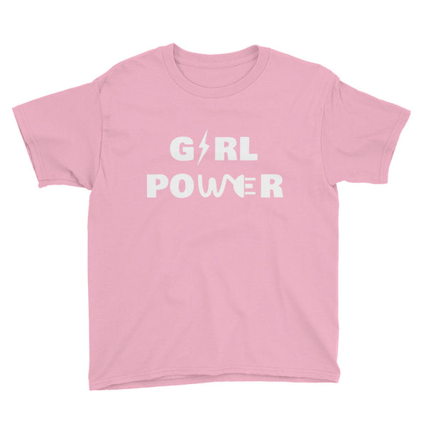 Youth Girl Power Short Sleeve T-Shirt