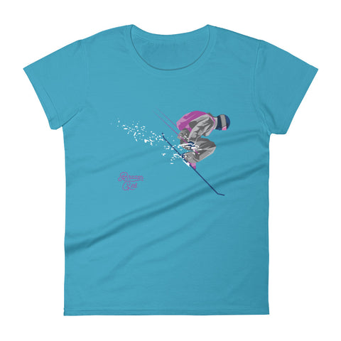 Women's Ski Jump Short Sleeve T-Shirt