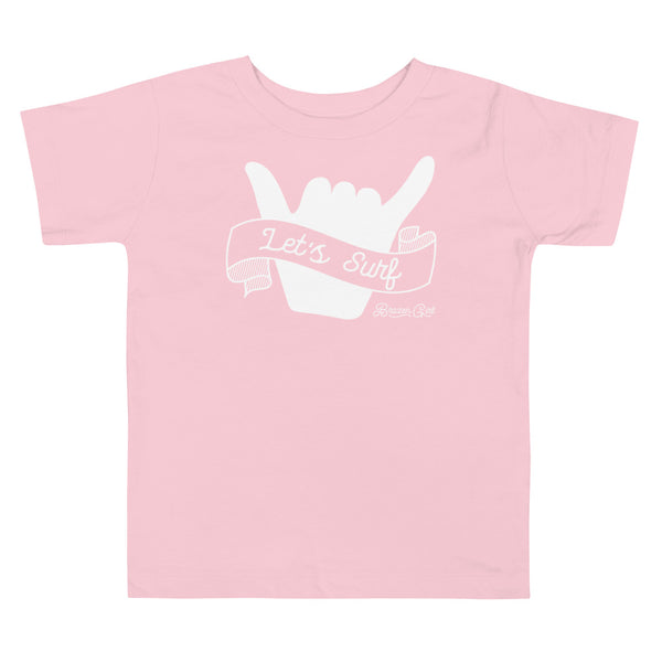 Toddler Let's Surf Short Sleeve Tee
