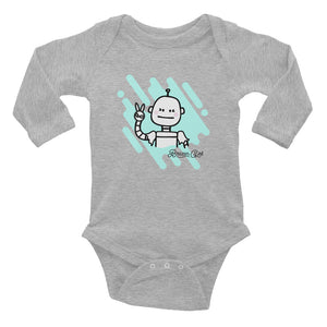 Baby Robot Girl Long Sleeve Bodysuit