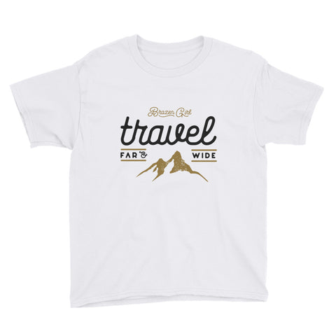 Youth Travel Short Sleeve T-Shirt