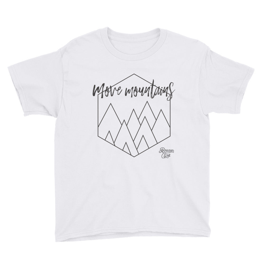 Youth Move Mountains Short Sleeve T-Shirt