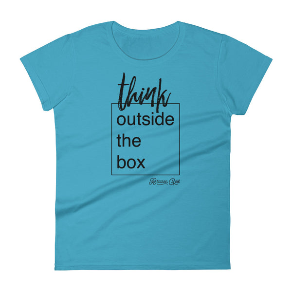 Women's Think Outside The Box Short Sleeve T-Shirt