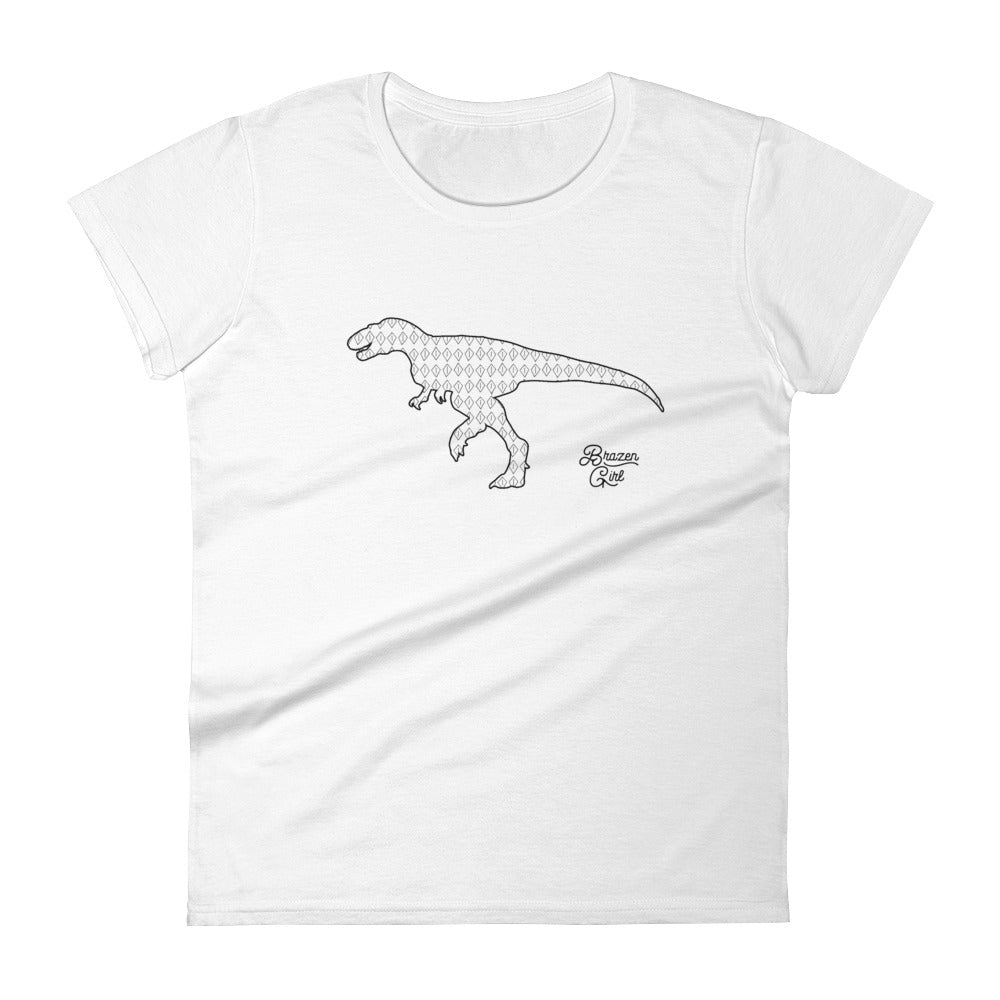 Women's Dino Short Sleeve T-Shirt