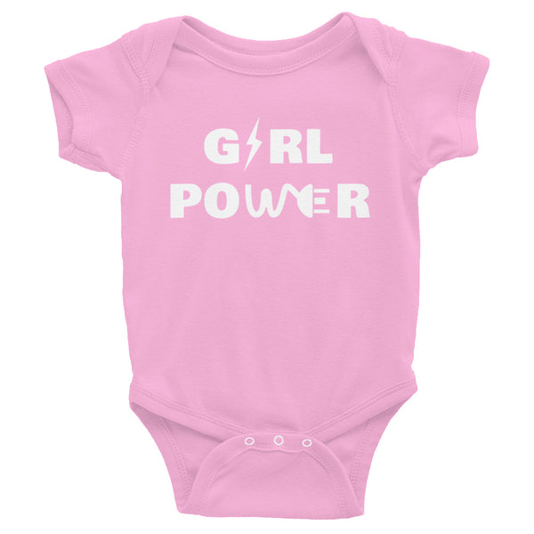 Baby Girl Power Short Sleeve Onesie