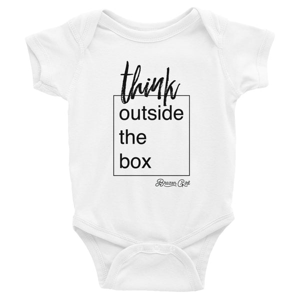 Baby Think Outside The Box Short Sleeve Onesie