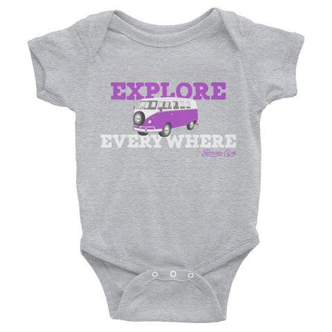 Baby Explore Everywhere Short Sleeve Onesie