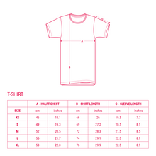 Load image into Gallery viewer, UFOC T-Shirt Size Chart