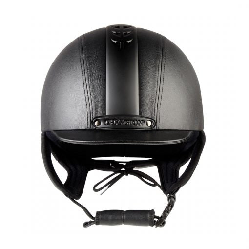 Champion Ventair Hunter Noir Peaked Helmet