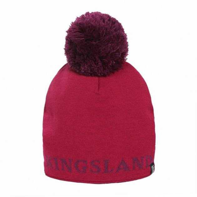 Kingsland Masy Knitted Bobble Hat - The Horse Shop