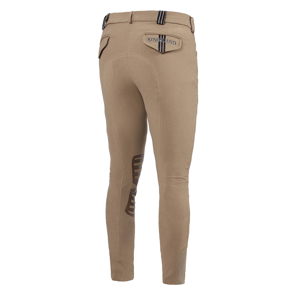 Kingsland Mens Kyle Breeches Knee Grip - The Horse Shop