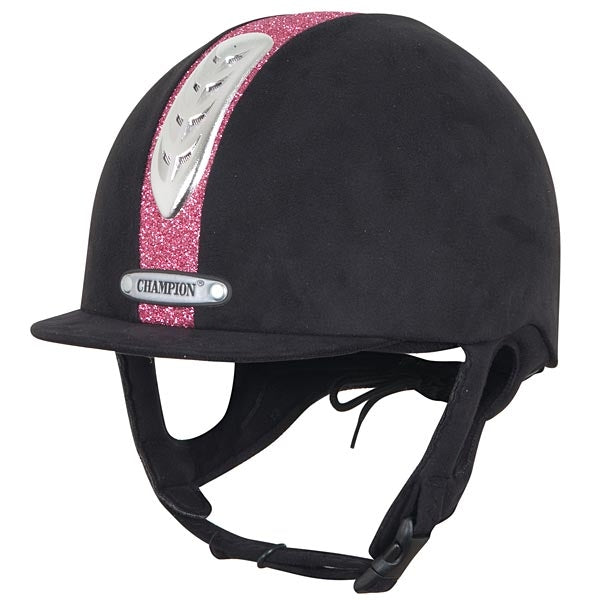 Champion Junior X-Air Dazzle Plus Riding Hat - The Horse Shop