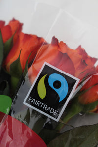 Fair Trade Red Roses - Market Blooms
