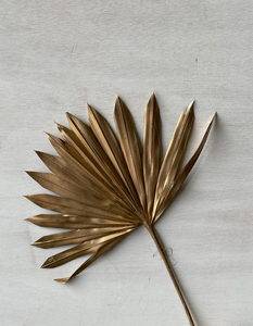 Palm Leaves - Gold