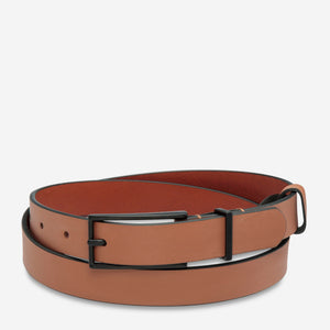 Lonesome Tonight Belt in Tan