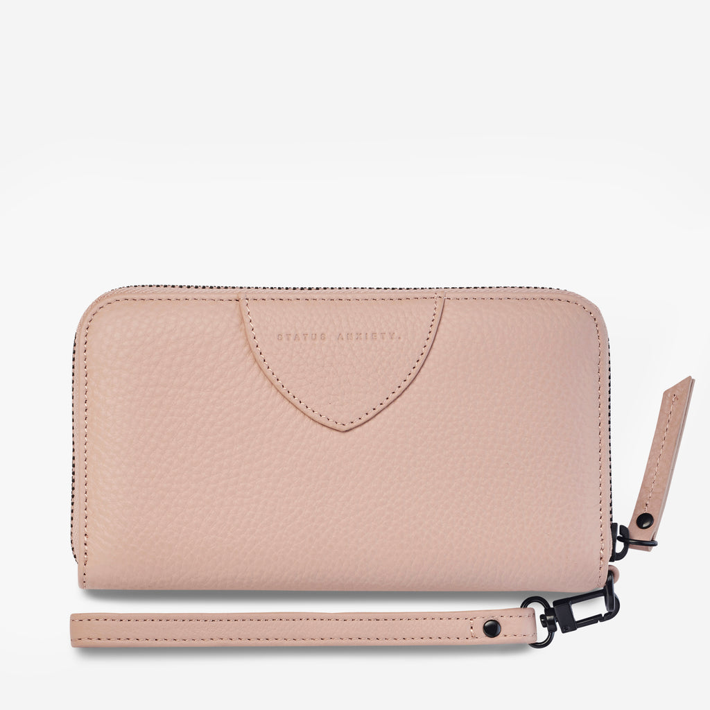 Moving On Wallet in Dusty Pink