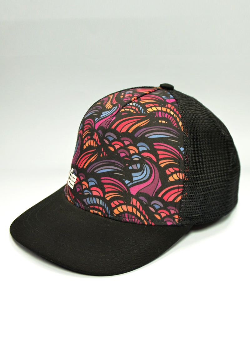 Nixie Abstract Trucker Cap