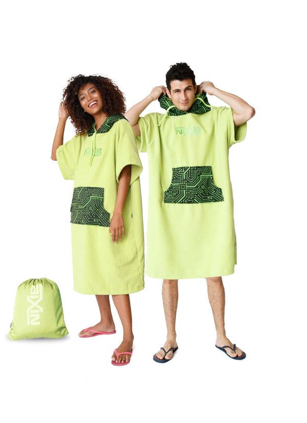 Nixie Tech Poncho-Towel