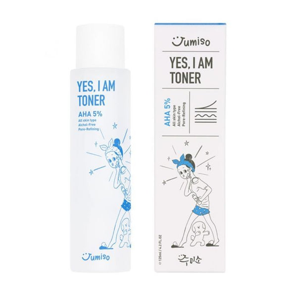 Jumiso Yes, I am Toner AHA 5% 150ml - Glowfull Skincare Beauty