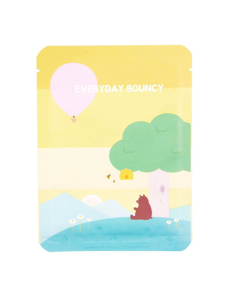 PACKage Everyday Bouncy Facial Mask 1pcs - Glowfull Skincare Beauty