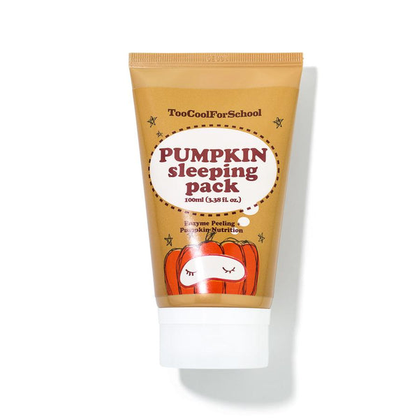 TooCoolForSchool Pumpkin Sleeping pack mini 30ml - Glowfull Skincare Beauty