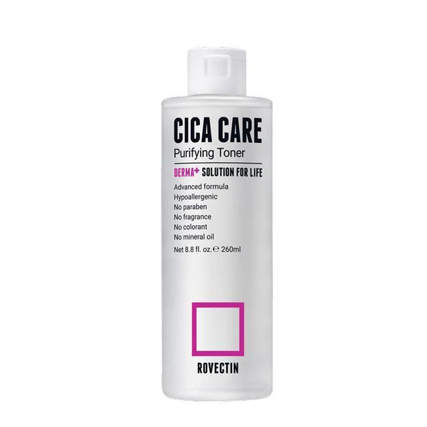 Rovectin Cica Care Purifying Toner 260ml - Glowfull Skincare Beauty
