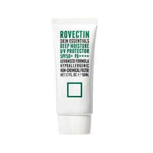 Rovectin Skin Essentials Deep Moisture UV Protector SPF50 PA++++ 50ml - Glowfull Skincare Beauty