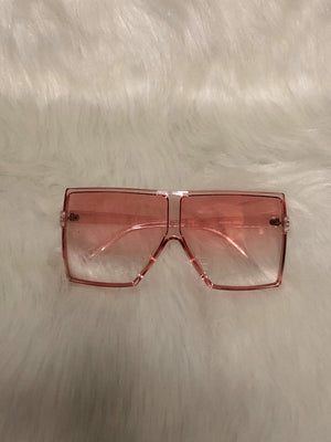 Pink Cotton Candy Sunglasses