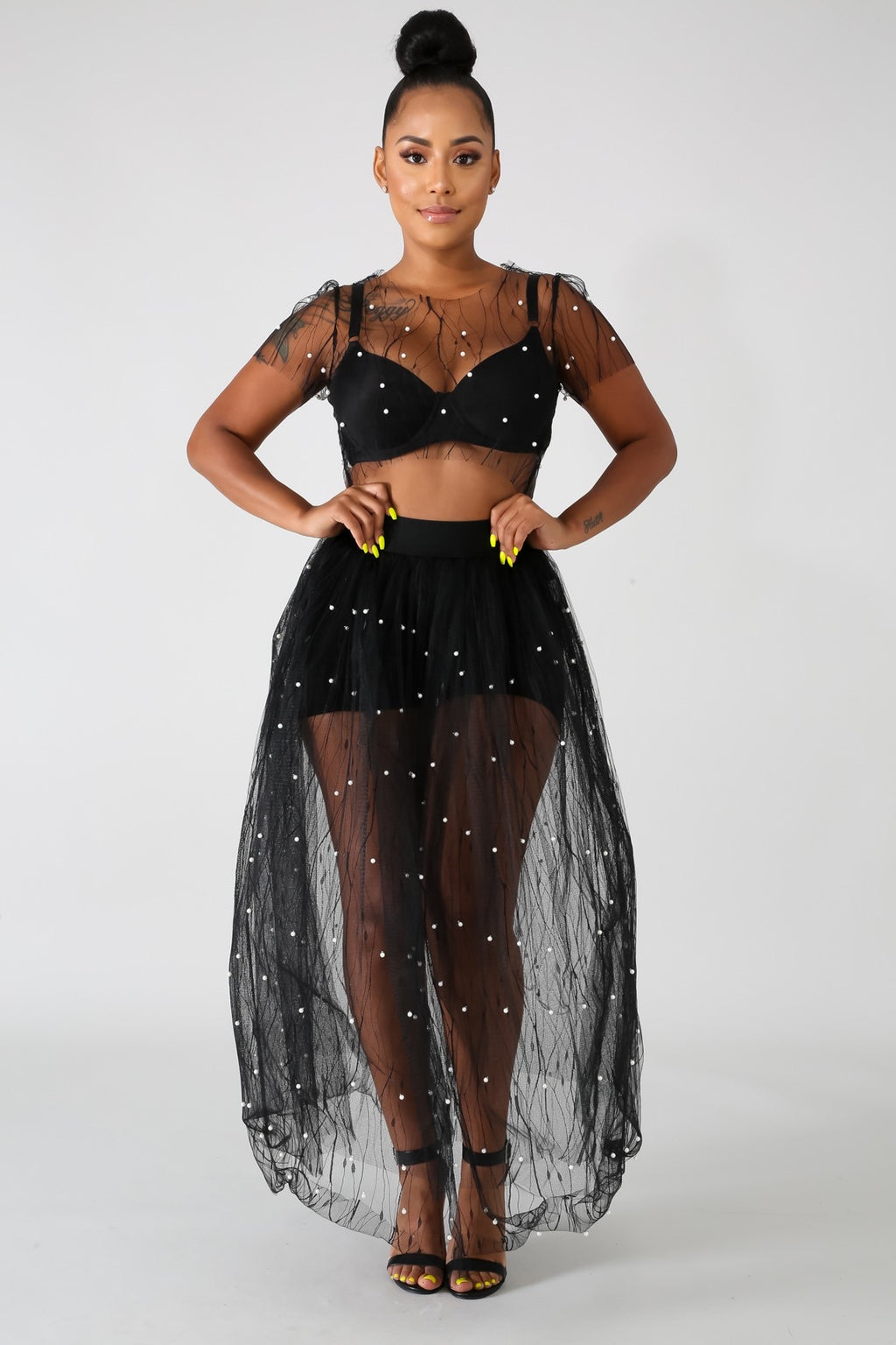 StarLight 2pc Skirt Set