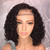 Brazilian Hair Curly Bob Full Lace Wigs