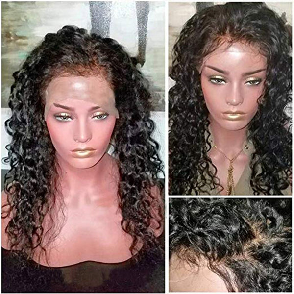 16-20 Inch Curly hair wig without glue