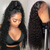 LONG CURLS WIG LACE WIG 100% VIRGIN HUMAN HAIR LADY WIG