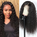 Curly Human Hair Wig Water Wave Wig 360 Lace Frontal Wig