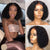 Brazilian Short Bob 360 LaceHuman Hair Wigs Lady Wig