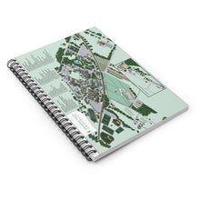 Load image into Gallery viewer, DVU Campus Map Spiral Notebook - Ruled Line