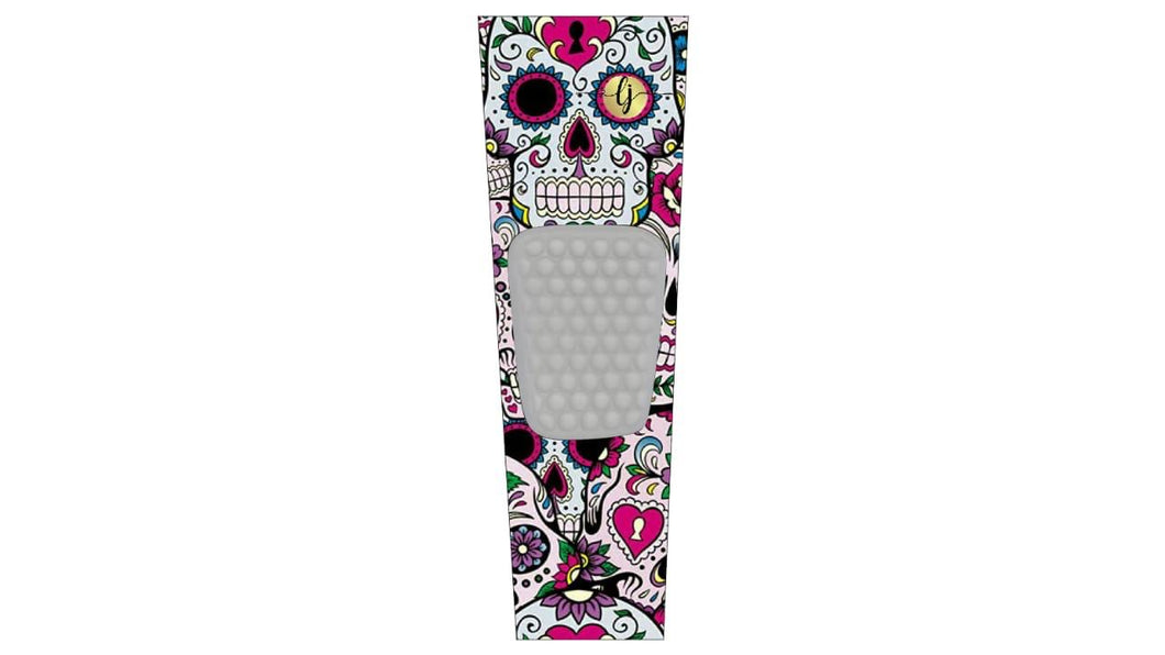 Sugar Skull Knee Sleeve (1pc)-LJ Wrestling Inc.