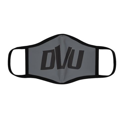 DVU Polyester Face Mask-Grey