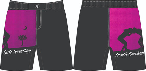 SC Girl's Wrestling-Fight Shorts
