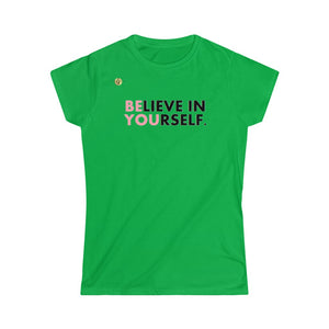 """ Be You!"" Women's Soft-style Tee-LJ Wrestling INC"