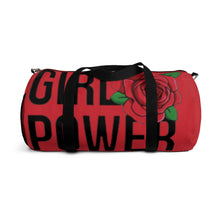 Load image into Gallery viewer, Girl Power Wrestling Duffel Bag (2 Size Options)