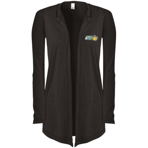 Fear The Ram Women's Hooded Cardigan/DVU