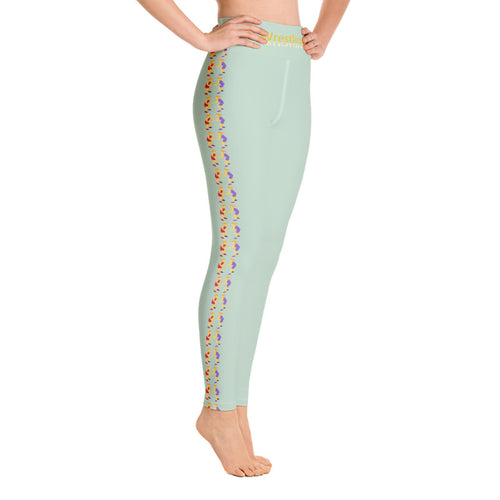LJ Wrestling Leggings-Sage