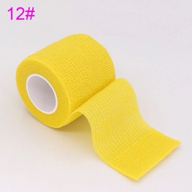 Colorful Self Adhesive Sports Tape (1pc)-Talents Wrestling Club