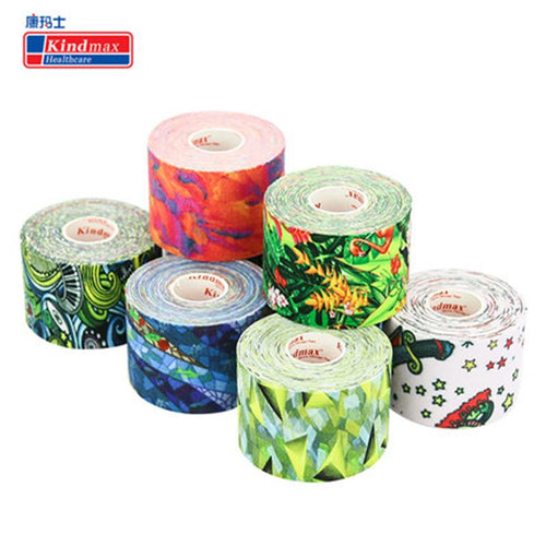 Colourful Kinesiology Tape-Talents Wrestling Club