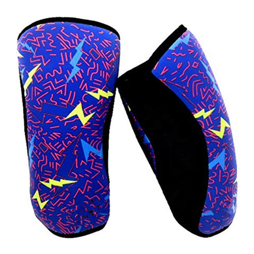 Wrestling Knee Sleeve/Weightlifting Knee Support - 7mm (No Pad) LJ Wrestling INC