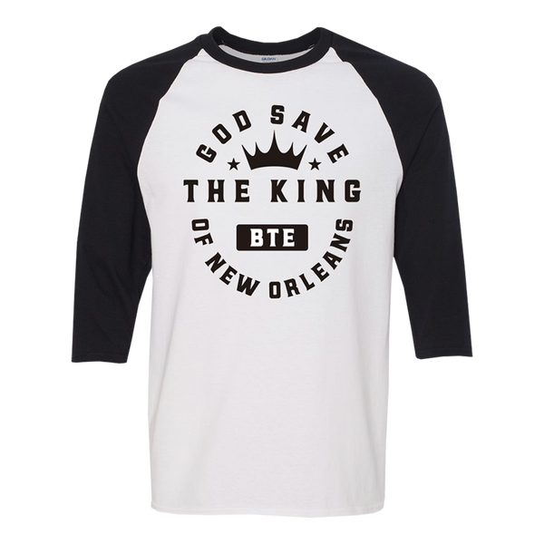King of New Orleans Baseball Tee