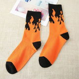 HOT!!!! Variant Flames Crew Socks