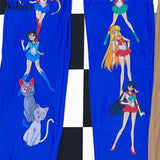Sailor Moon Graphic Khaki Pants