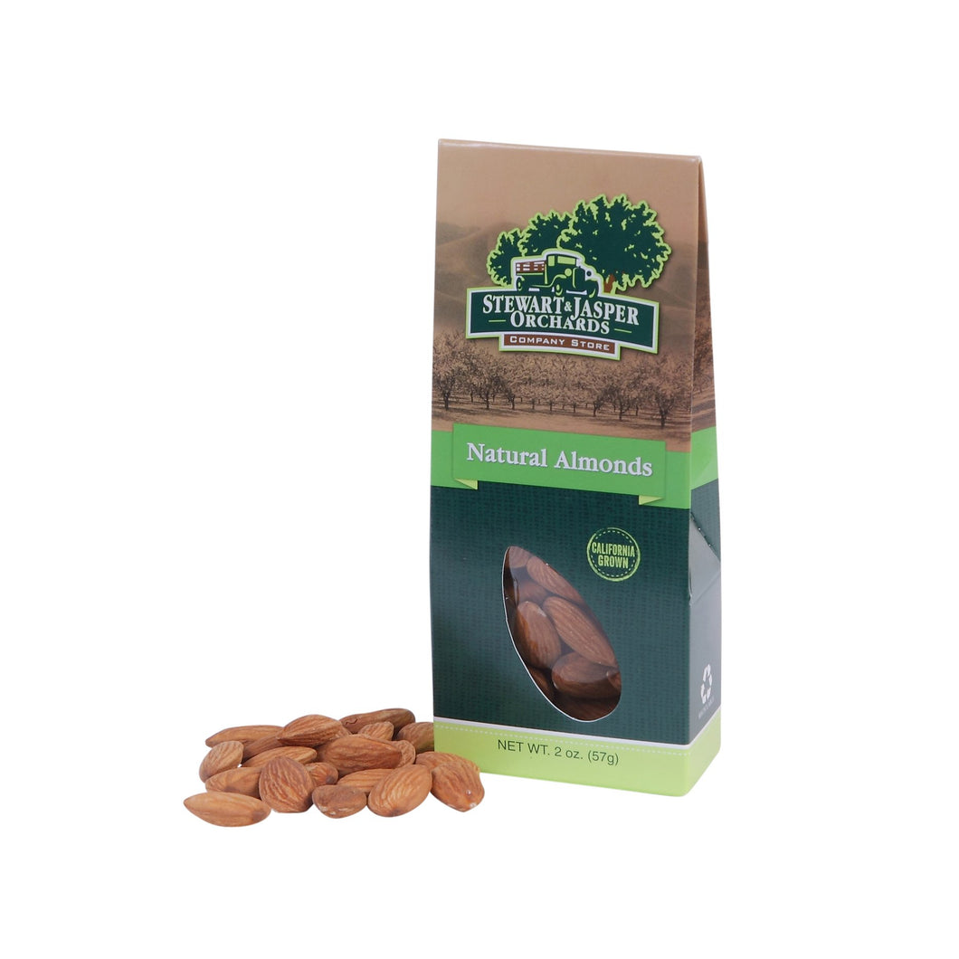 Natural Brown Raw Almonds